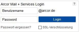 Arcor Mail