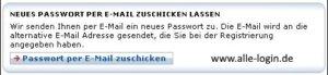 Arcor Mail Passwort per eMail