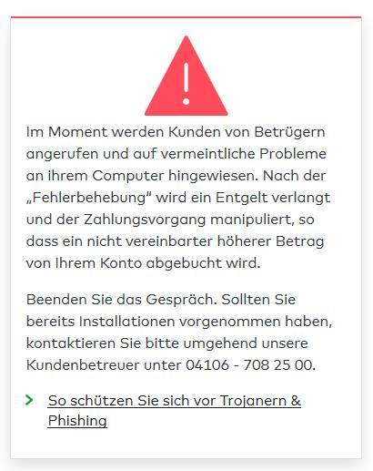 comdirect login Schutz