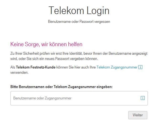 T-Online Mail passwort vergessen